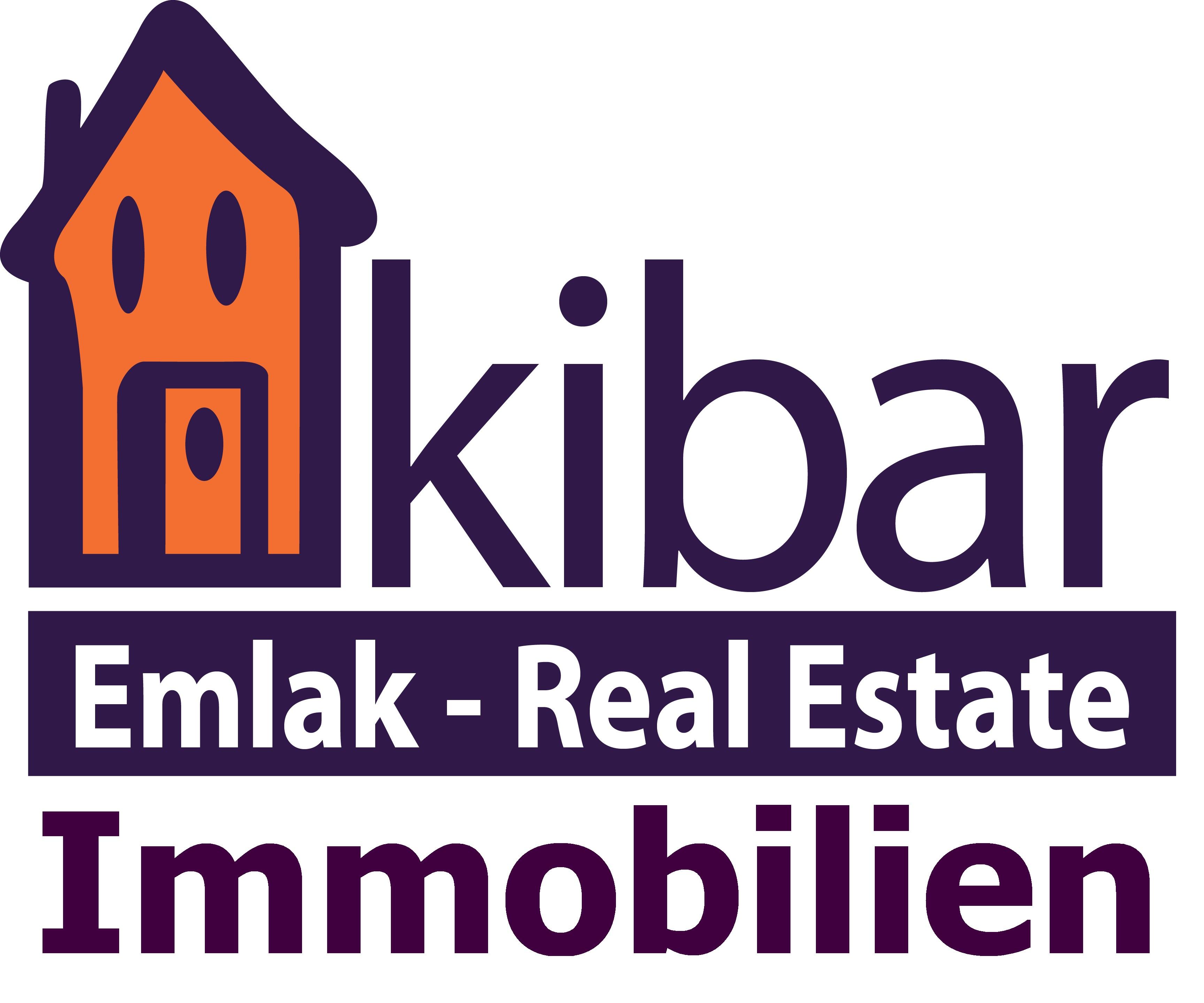 Hier sehen Sie das Logo von Kibar Immobilen GmbH