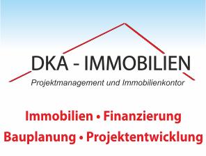 Hier sehen Sie das Logo von DKA-Immobilien