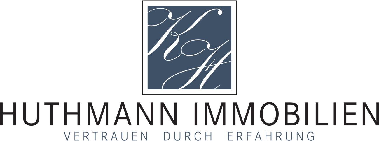 Hier sehen Sie das Logo von HUTHMANN iMMOBILIEN