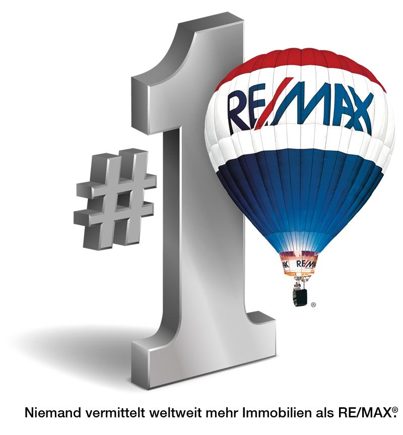 Hier sehen Sie das Logo von RE/MAX A2 Immobilien