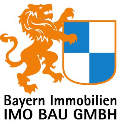 Hier sehen Sie das Logo von IMO BAU GMBH Bayern Immobilien