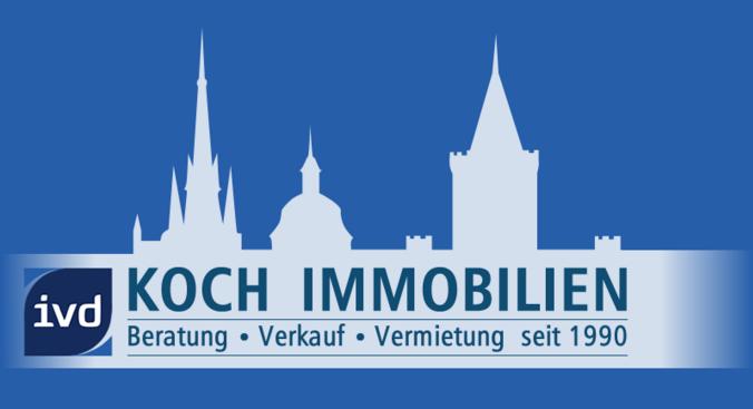Hier sehen Sie das Logo von KOCH IMMOBILIEN