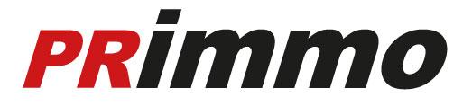 Hier sehen Sie das Logo von Primmo GmbH