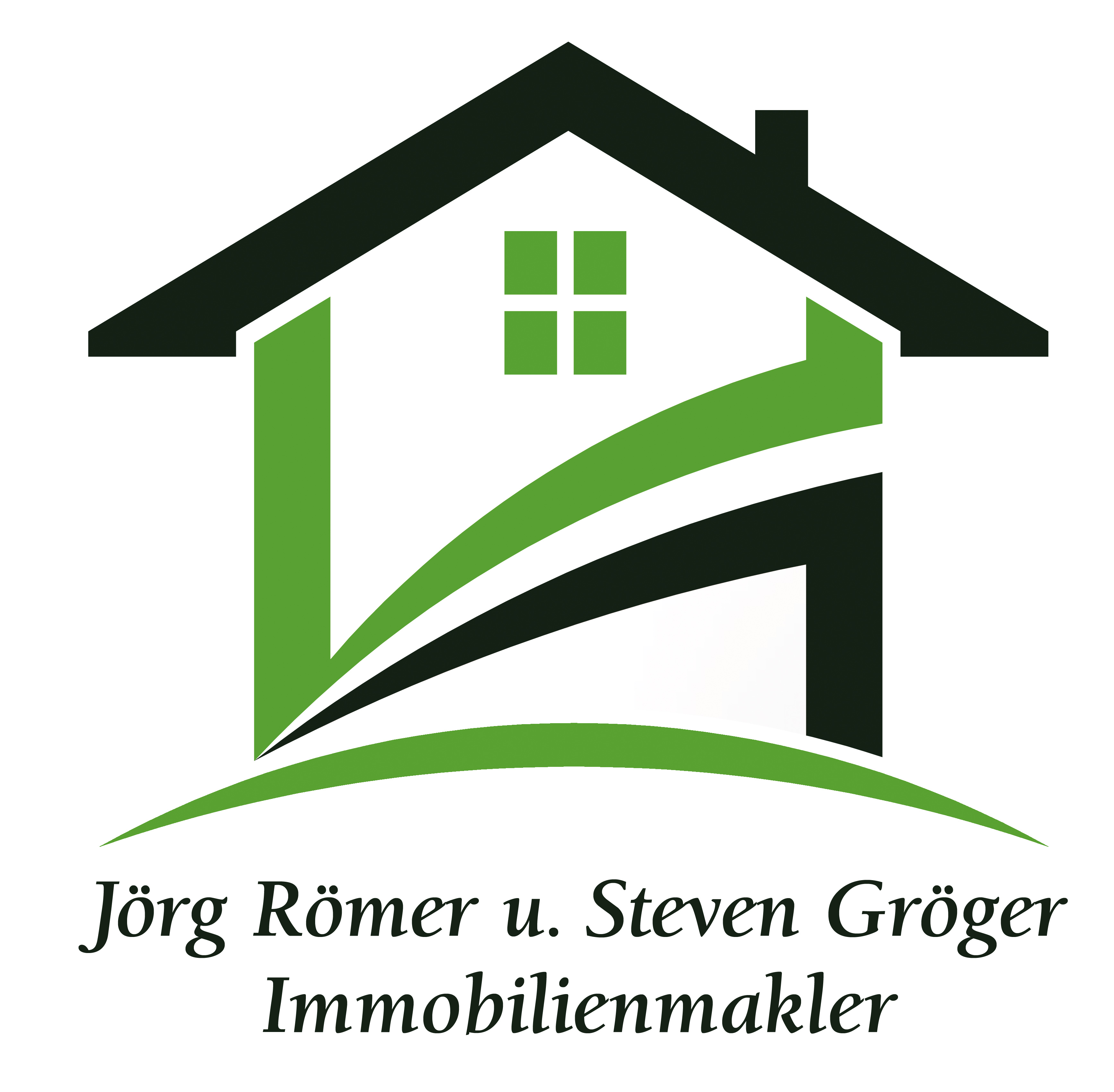 Hier sehen Sie das Logo von Römer + Gröger Immobilienmakler UG