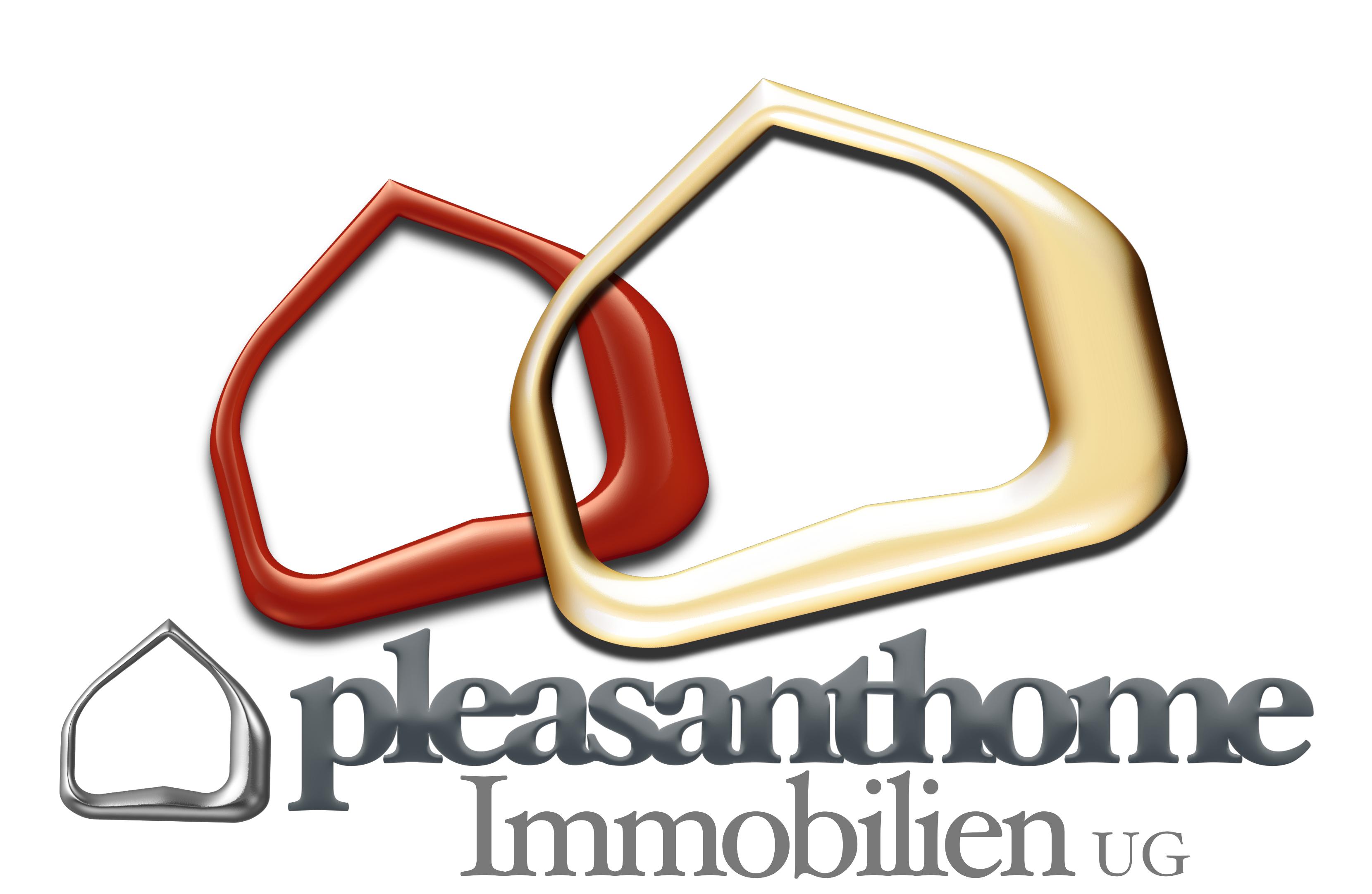Hier sehen Sie das Logo von pleasanthome Immobilien UG