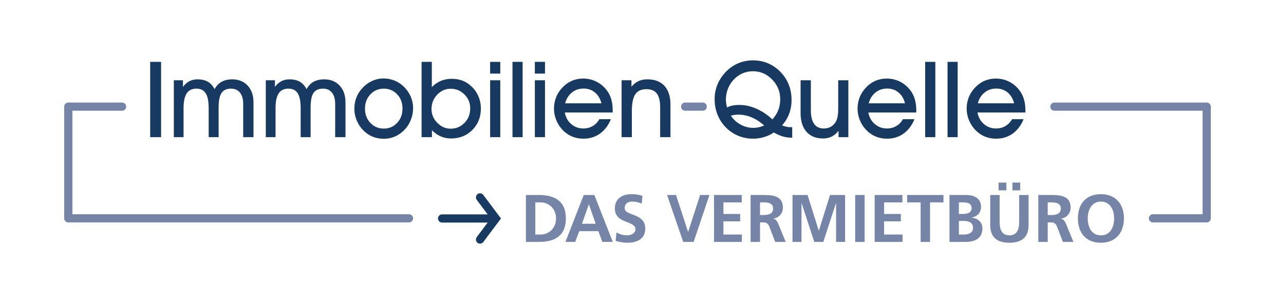 Hier sehen Sie das Logo von Immobilien-Quelle, DAS VERMIETBÜRO