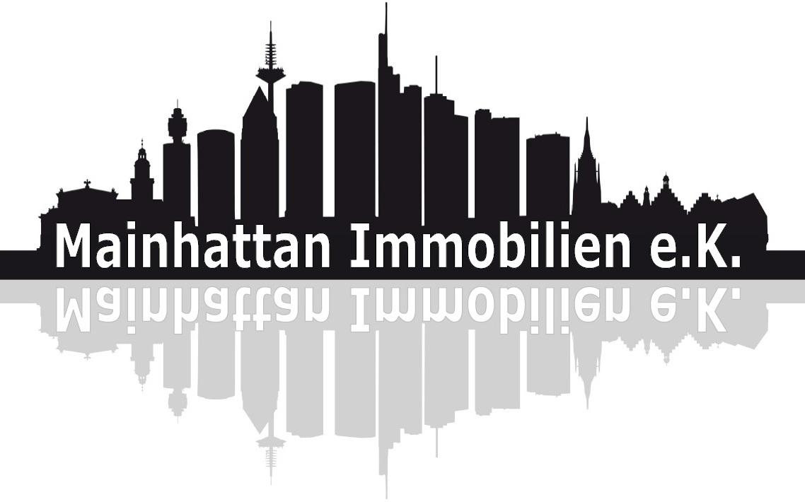 Hier sehen Sie das Logo von Mainhattan Immobilien e.K.