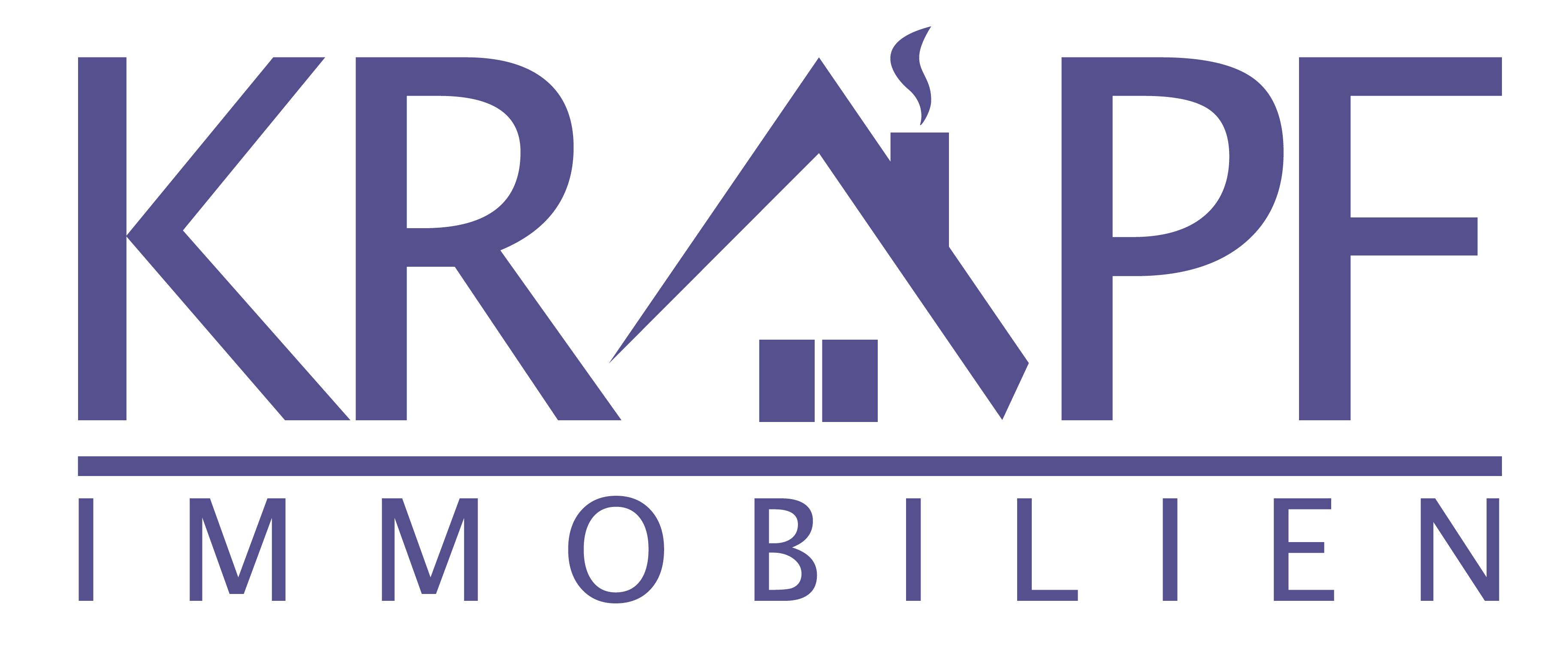 Hier sehen Sie das Logo von Krapf Immobilien