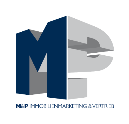 Hier sehen Sie das Logo von M&P Immobilienmarketing & Vertrieb