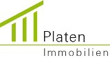 Hier sehen Sie das Logo von Platen-Immobilien