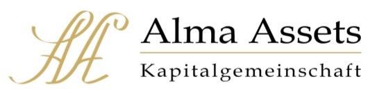 Hier sehen Sie das Logo von Alma Assets GmbH