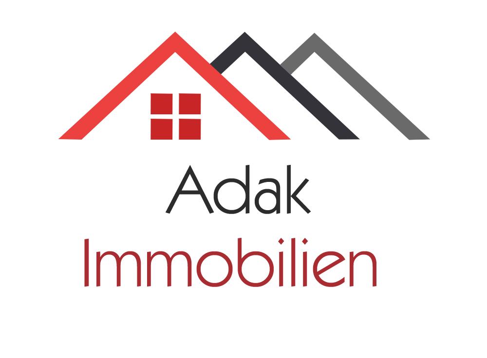 Hier sehen Sie das Logo von Adak Immobilien