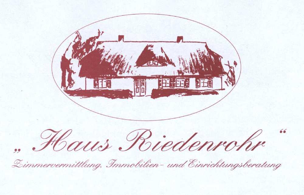 Hier sehen Sie das Logo von Haus Riedenrohr Immobilien und Einrichtungsberatung