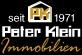 Hier sehen Sie das Logo von Peter Klein Immobilien GmbH