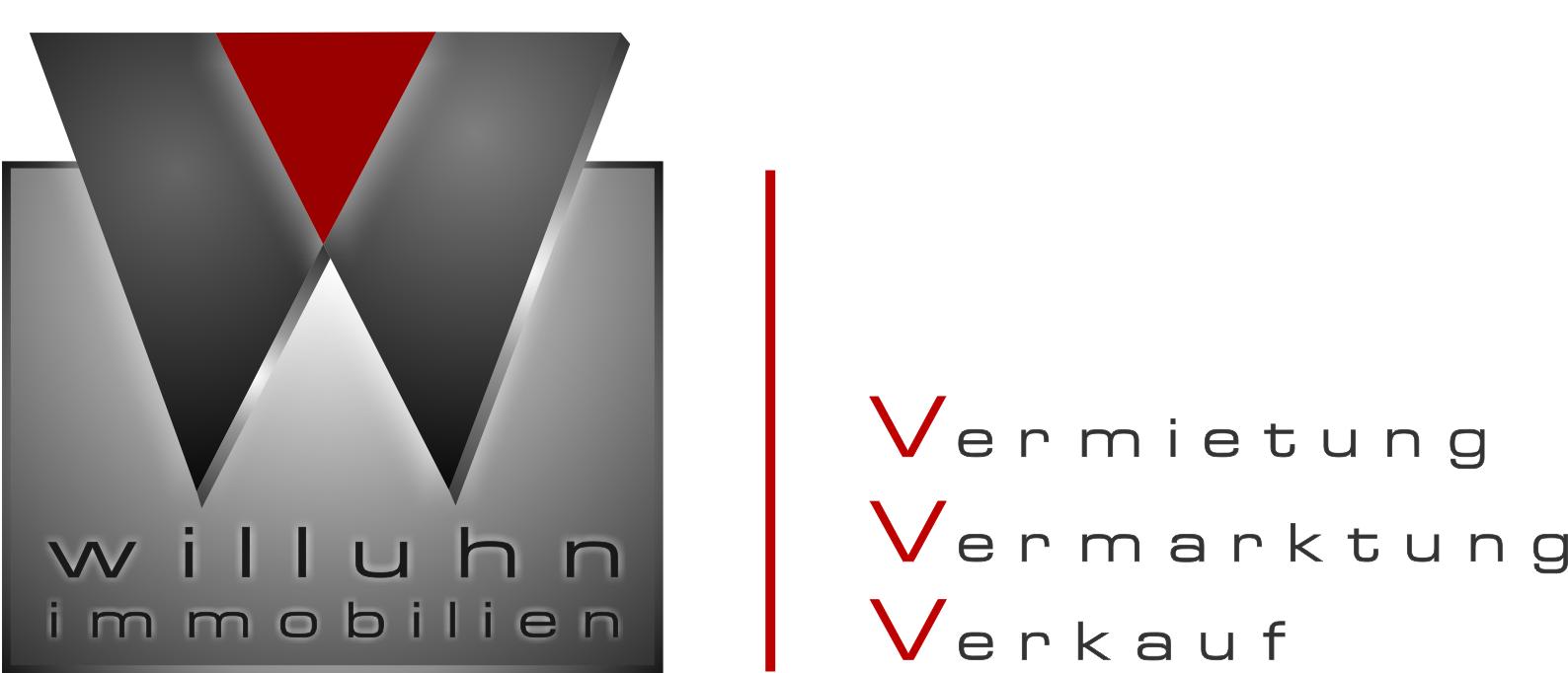 Hier sehen Sie das Logo von Willuhn Immobilien e.K.