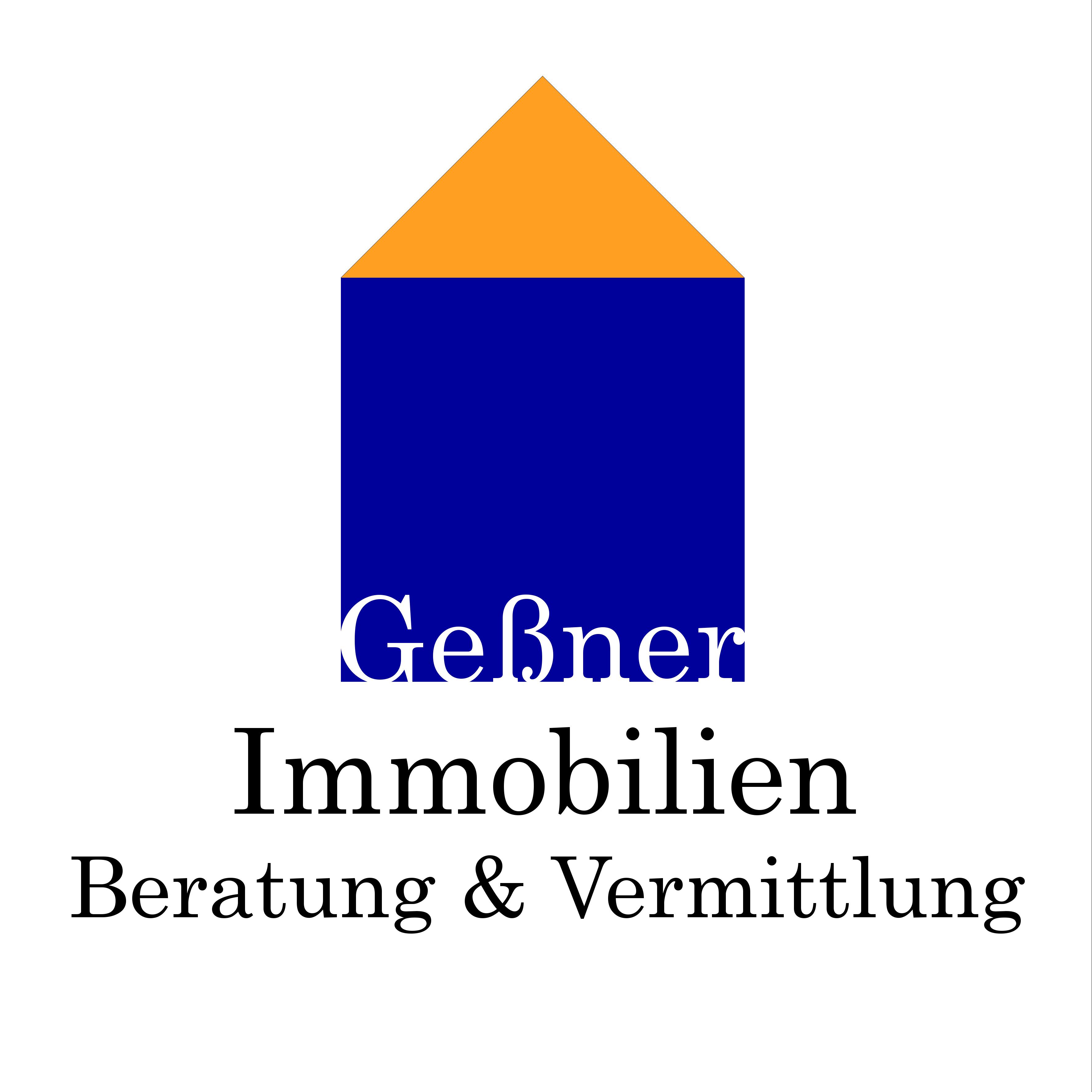 Hier sehen Sie das Logo von Geßner Immobilien