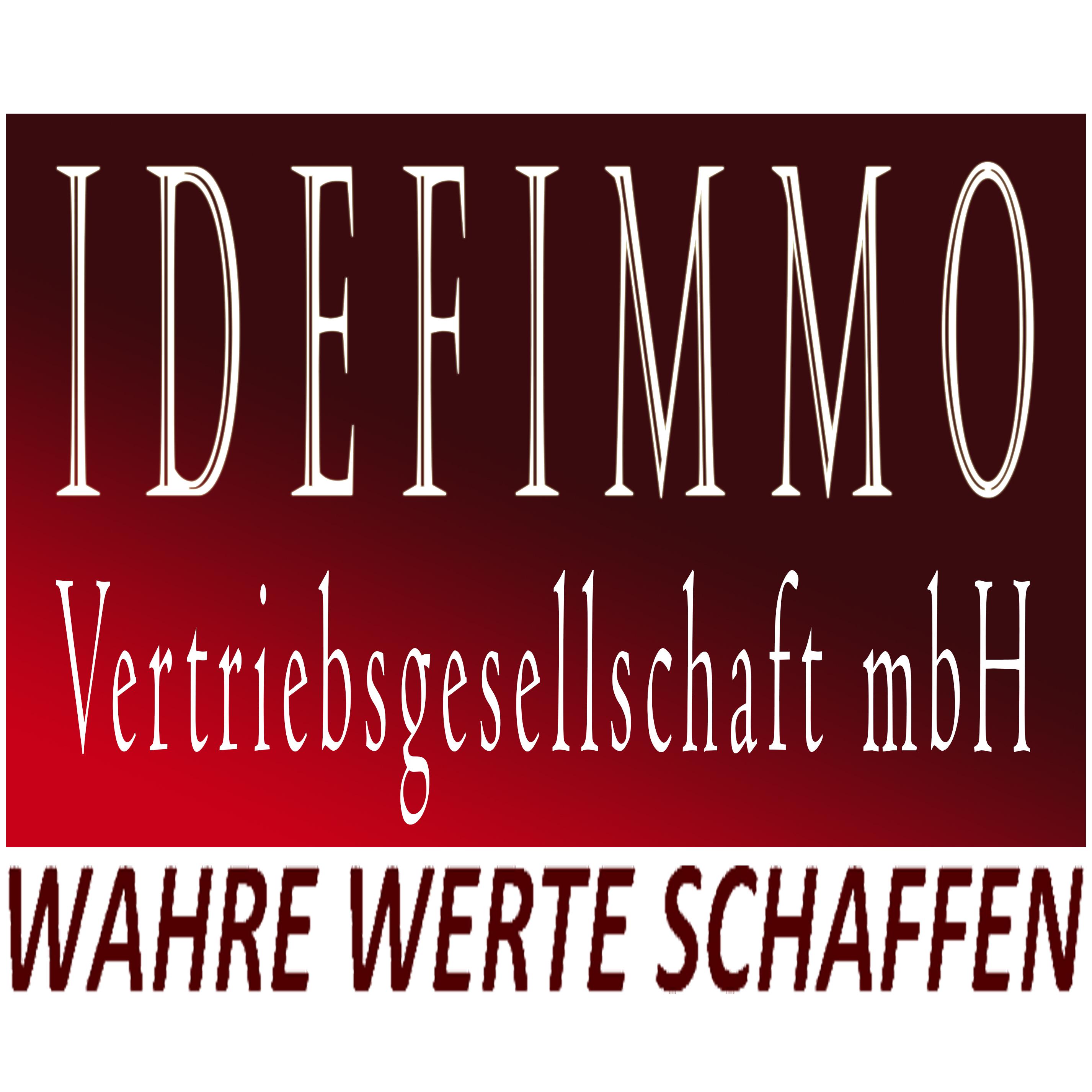 Hier sehen Sie das Logo von IDEFIMMO Vertriebsgesellschaft mbH