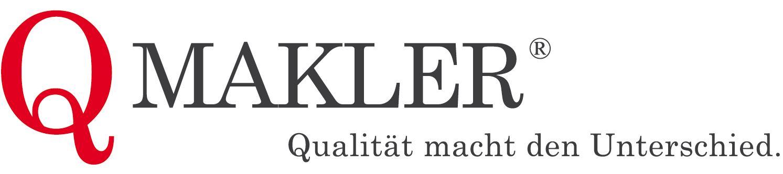 Hier sehen Sie das Logo von QMakler GmbH