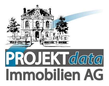 Hier sehen Sie das Logo von PROJEKTdata Immobilien AG