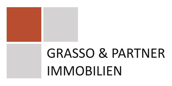 Hier sehen Sie das Logo von Grasso & Partner Immobilien