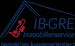 Hier sehen Sie das Logo von IB-GRE Immobilienservice Gregorzik