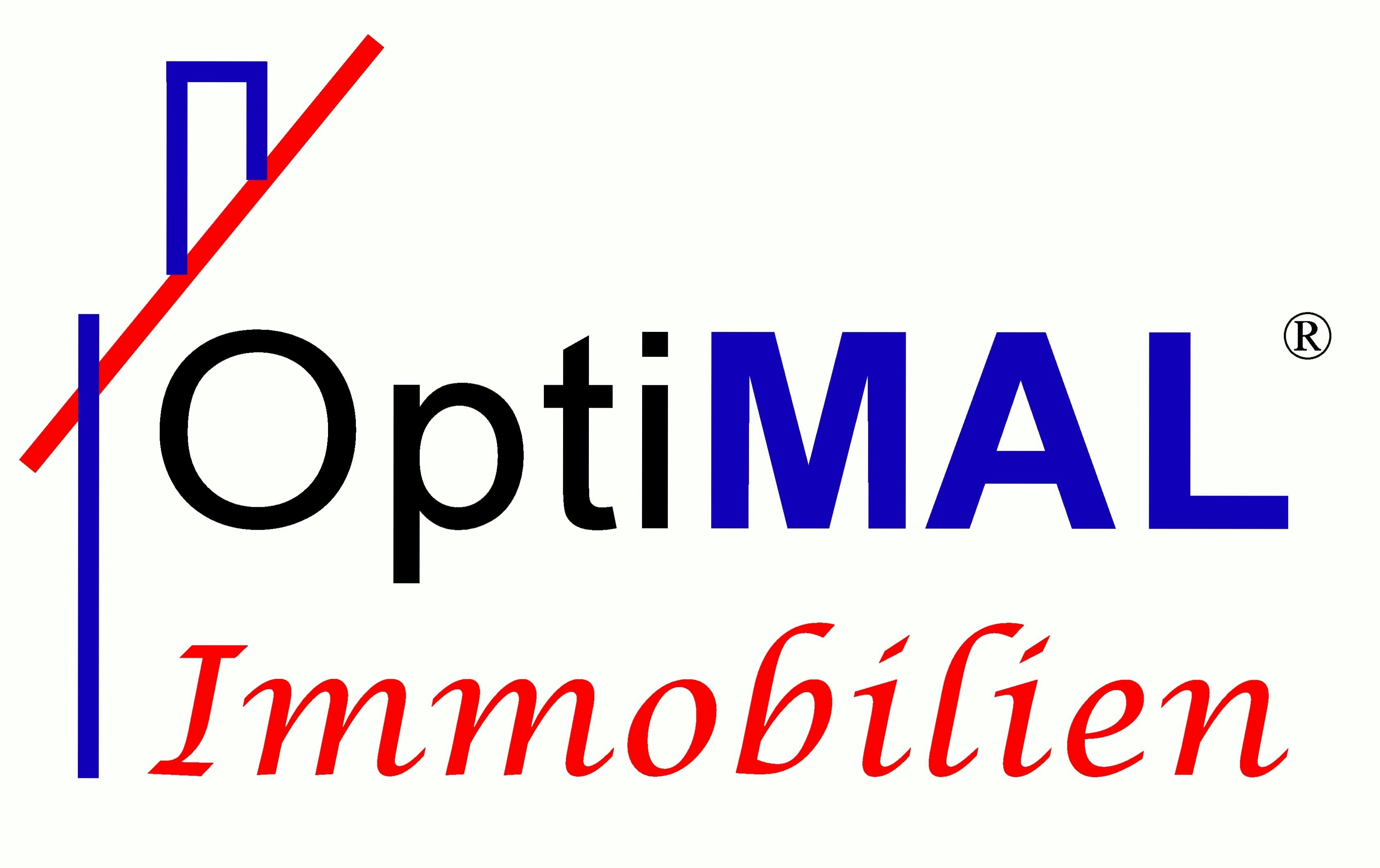 Hier sehen Sie das Logo von OptiMAL Immobilien