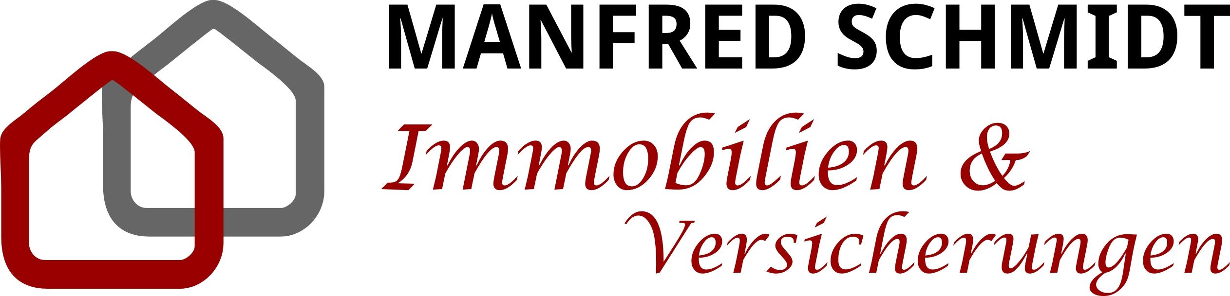 Hier sehen Sie das Logo von Manfred Schmidt - SCHMIDT - IMMO - FINANZ