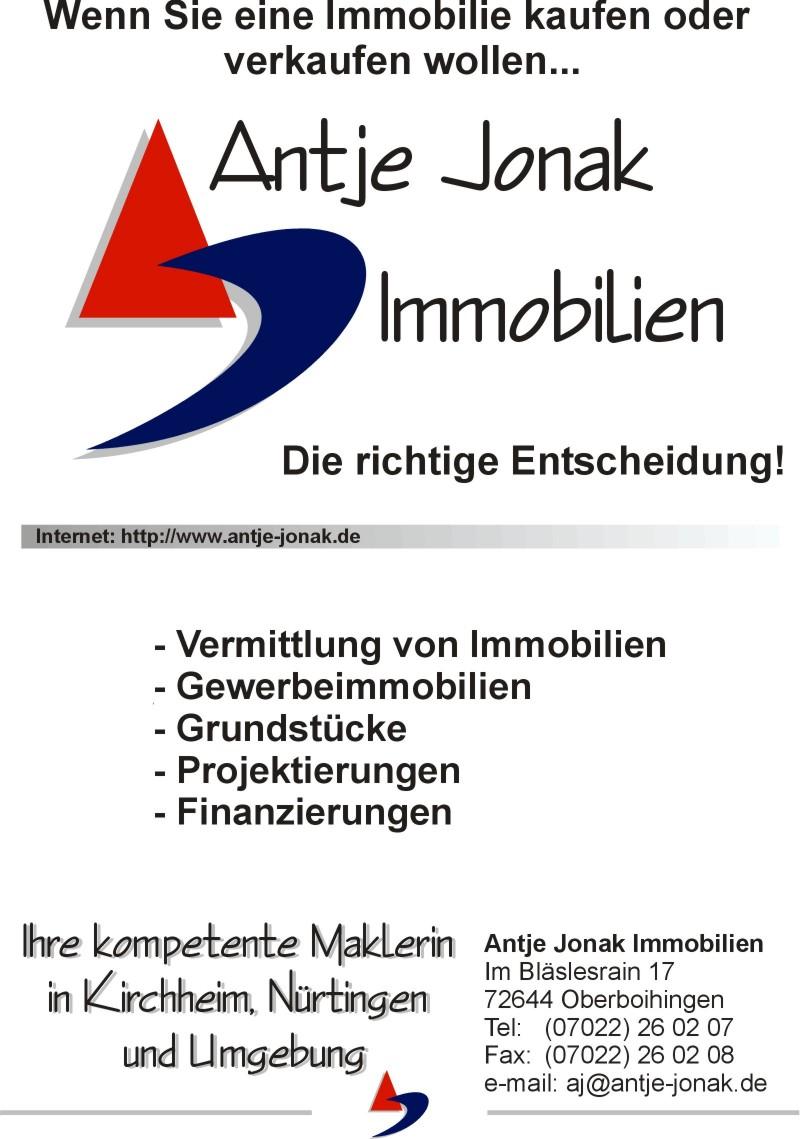 Hier sehen Sie das Logo von Antje Jonak Immobilien