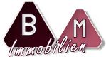 Hier sehen Sie das Logo von BM Immobilien