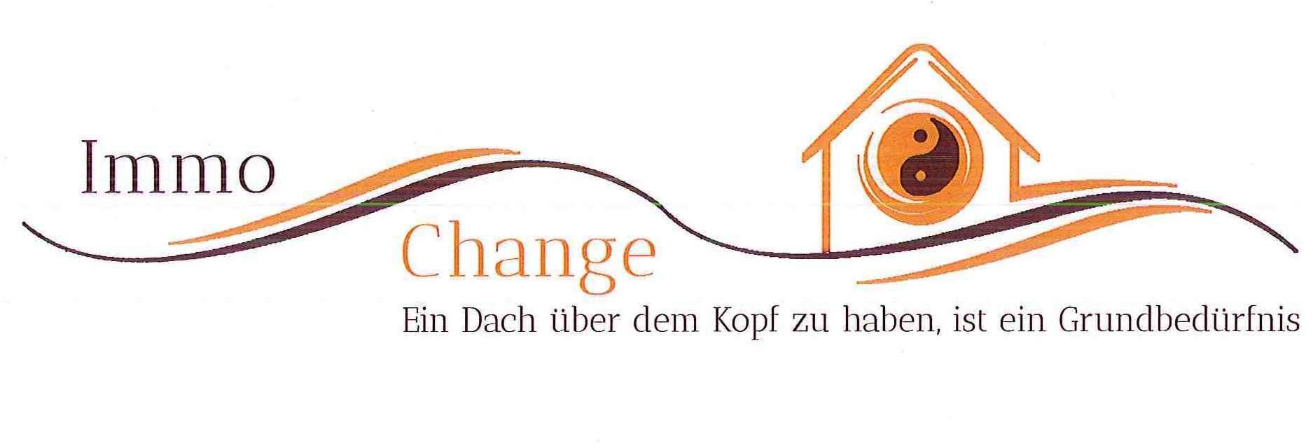 Hier sehen Sie das Logo von Immo-Change