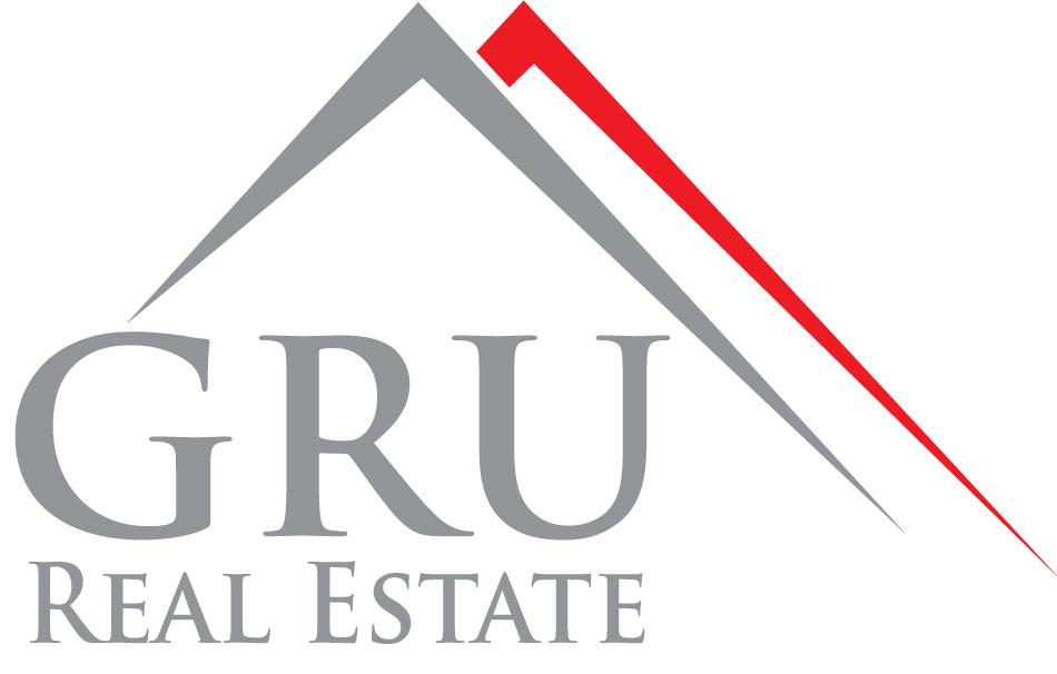 Hier sehen Sie das Logo von GRU Real Estate Immobilien & Finanzierungen