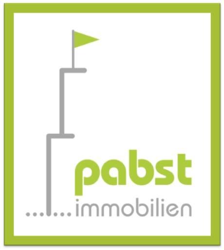 Hier sehen Sie das Logo von pabst immobilien