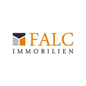 Hier sehen Sie das Logo von Falc Immobilien Agentur Jens Lange