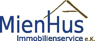 Hier sehen Sie das Logo von MienHus Immobilienservice e.K.
