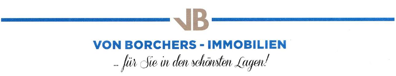 Hier sehen Sie das Logo von VON BORCHERS-IMMOBILIEN