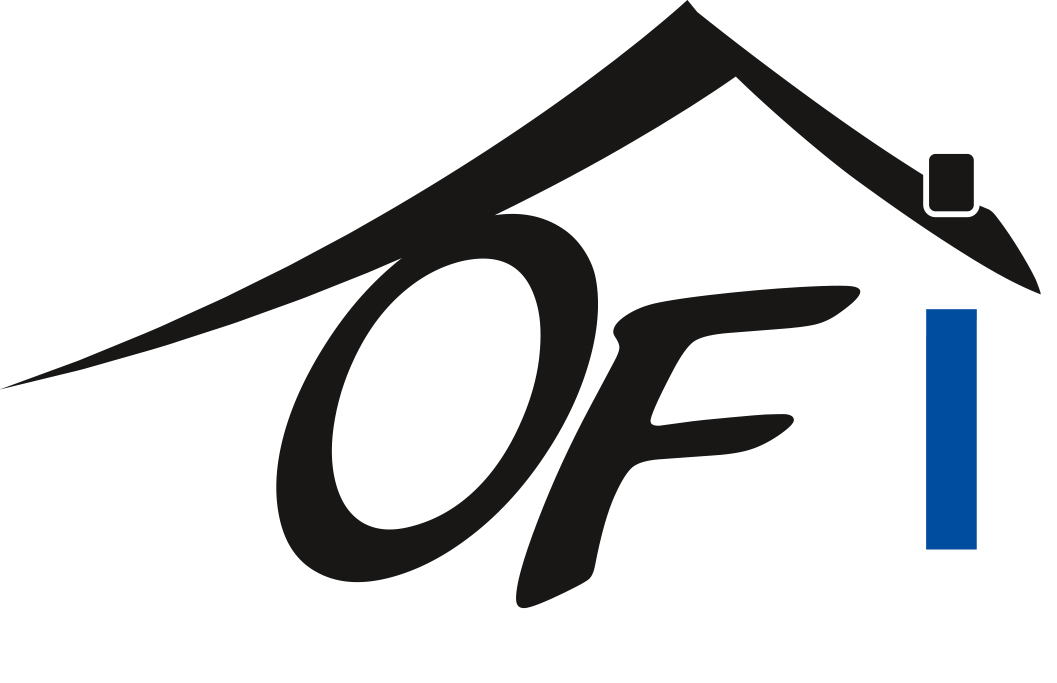 Hier sehen Sie das Logo von OF Immobilien