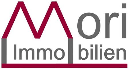 Hier sehen Sie das Logo von Mori Immobilien
