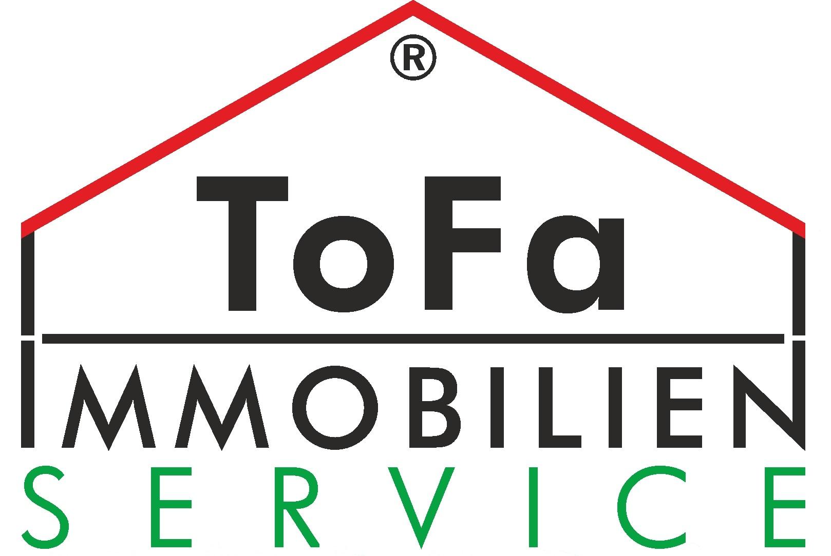 Hier sehen Sie das Logo von ToFa Immobilien Service