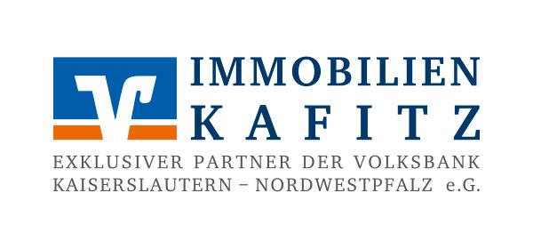 Hier sehen Sie das Logo von Immobilien Kafitz Exklusiver Partner der Volksbank Kaiserslautern-Nordwestpfalz eG