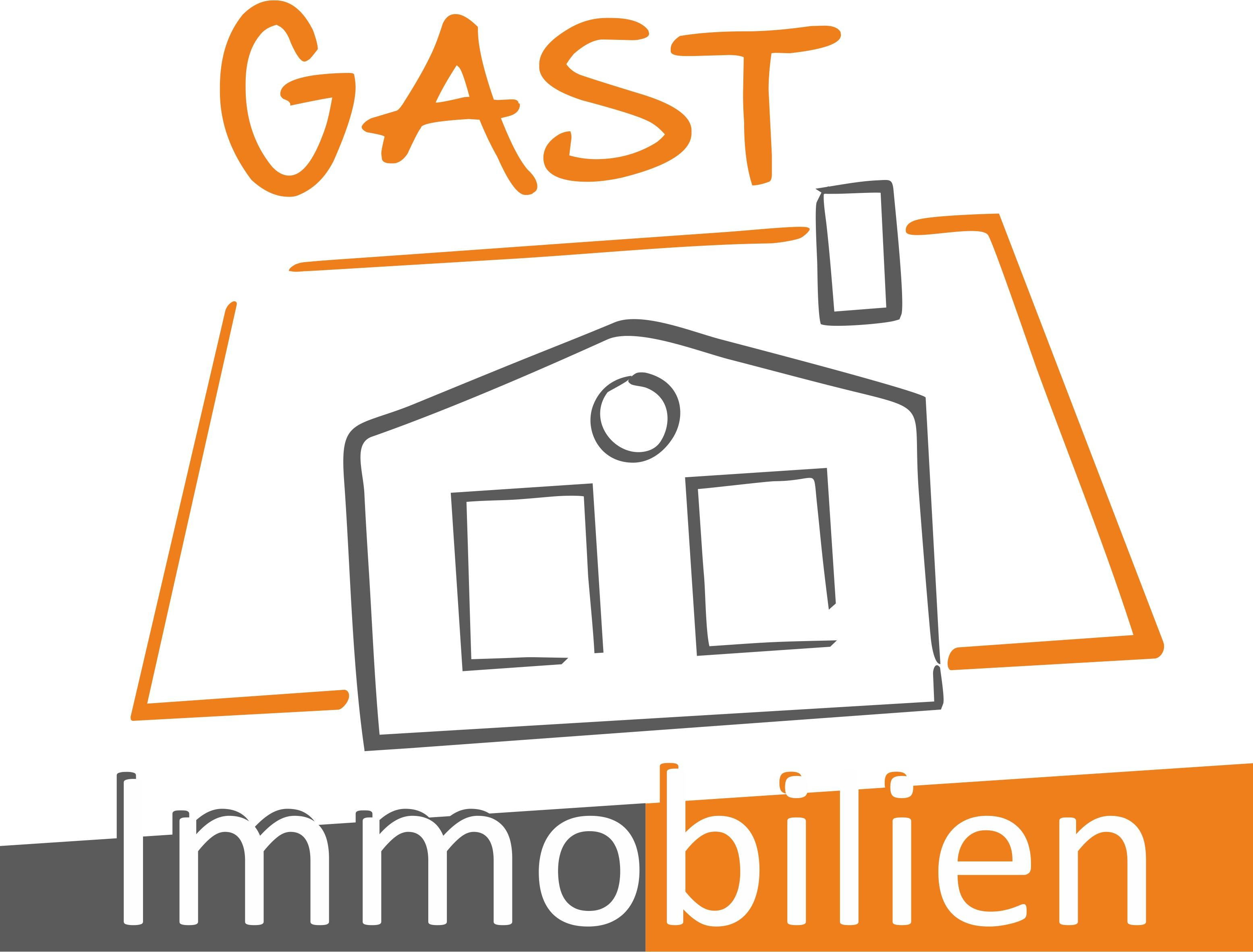 Hier sehen Sie das Logo von GAST Immobilien