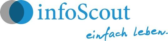 Hier sehen Sie das Logo von infoScout Finanz KG