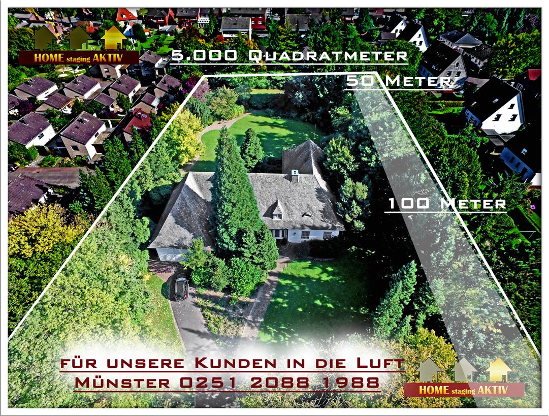 Luftaufnahmen zeigen das wahre Ausmaß:  Braucht Ihre Immobilie diese Bilder? Dann kommen Sie zu uns.