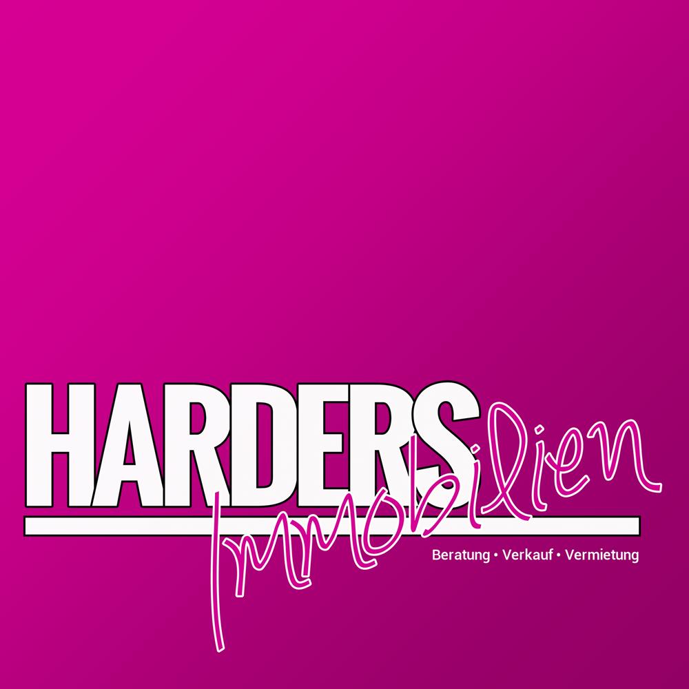 Hier sehen Sie das Logo von Harders Immobilien