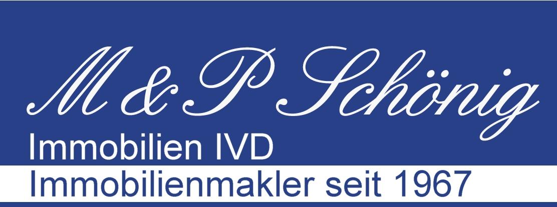 Hier sehen Sie das Logo von M & P Schoenig Immobilien IVD