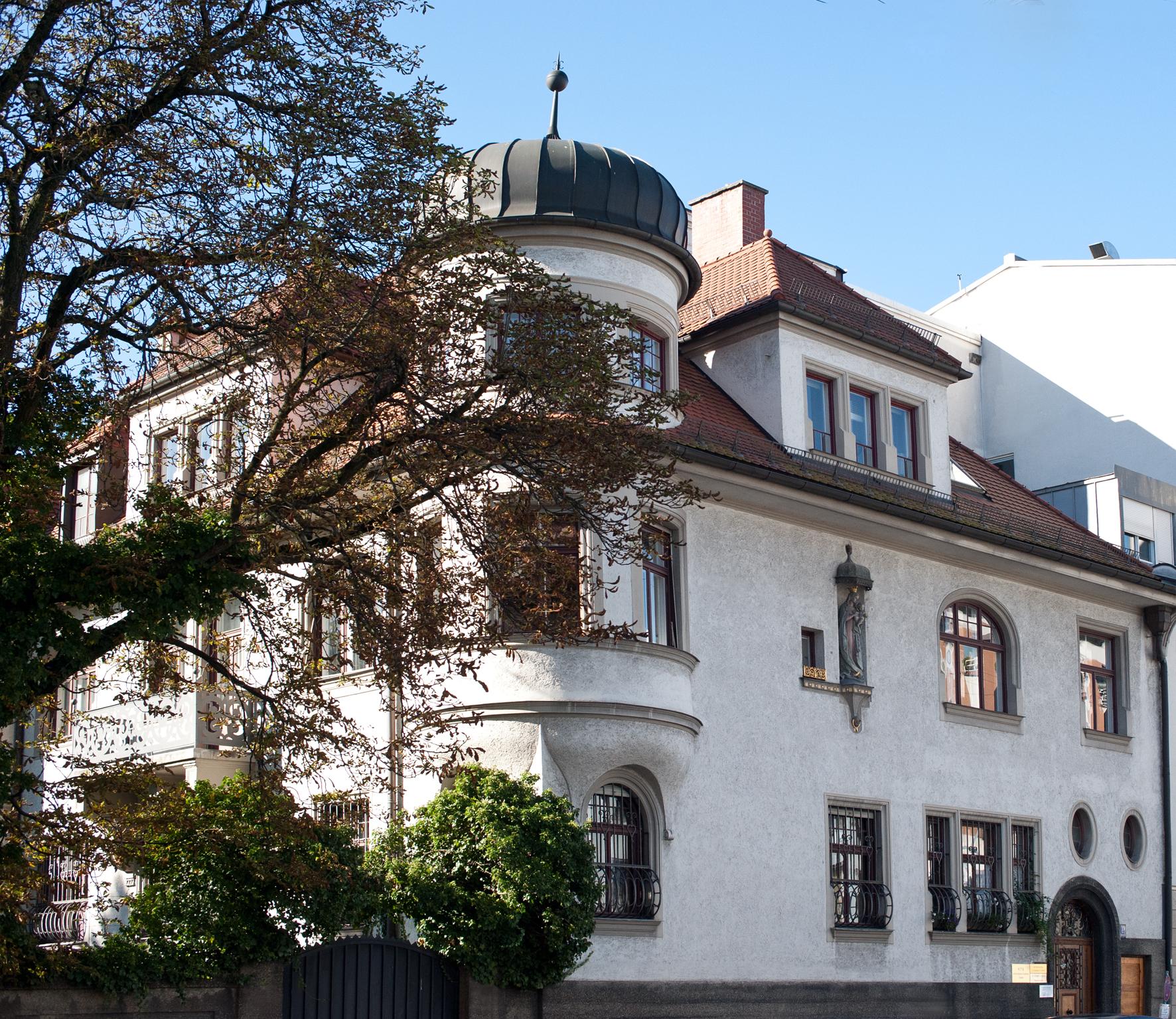 Unser Büro in München Schwabing, Herzogstraße 19