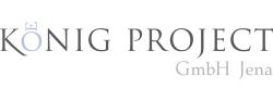 Hier sehen Sie das Logo von König Project GmbH Jena