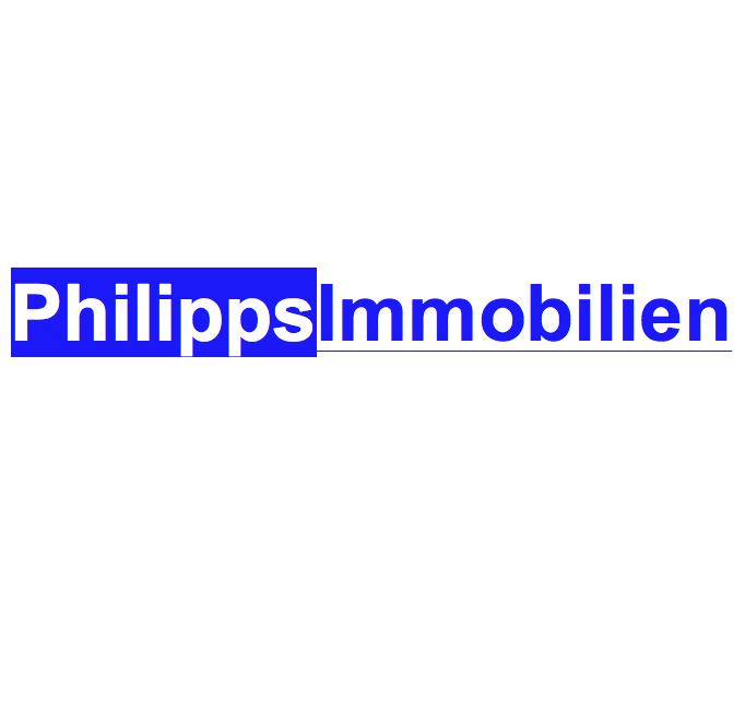 Hier sehen Sie das Logo von Philipps Immobilien