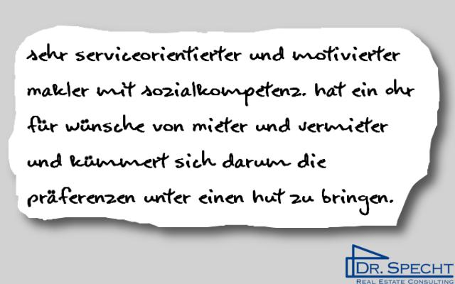 Kundenmeinung von Vermieter F. Bauer, Luxemburg