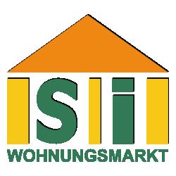 Hier sehen Sie das Logo von SI Wohnungsmarkt