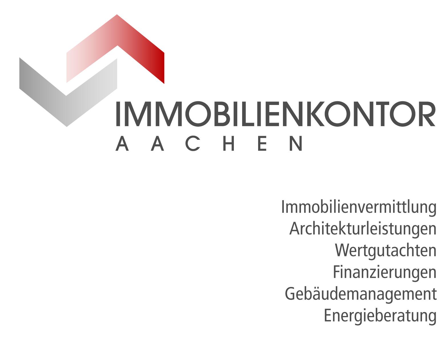 Hier sehen Sie das Logo von Immobilienkontor Aachen, Gesellschaft für Unternehmensführung mbH